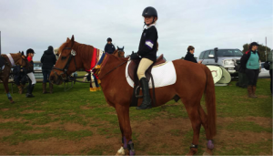 Wow! Miranda and Dime taking out 1st place at the VEIS Interschool Showjumping Grand Final (Level 2, Encourage section).